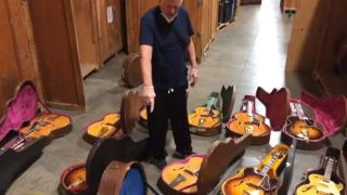 WOW!!! Norm's Warehouse 2020 Part 1 - vintage archtops...!!
