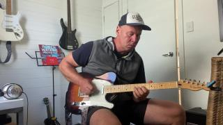 "Kristian Daley: ""Testing out my new Fender Tele"""
