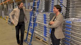 Ondernemerslounge (RTL7) | 3.5.01 | Introductie door Maurice Vollebregt