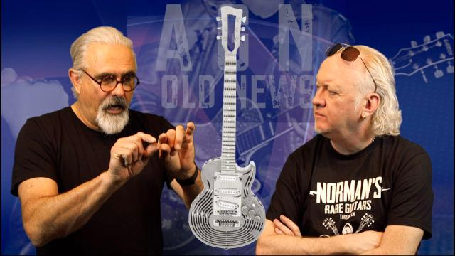 Old News: May 2: Sandvik Unbreakable Guitar; Boon Gould, Level 42 guitarist dead at 64