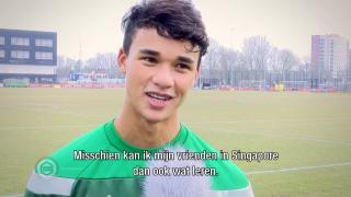 Zoons FC-legende Fandi lopen stage bij Onder 23
