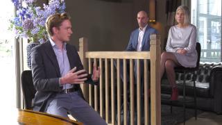 Ondernemerslounge (RTL7) | 1.2.05 | Pitch van start-up Skoon