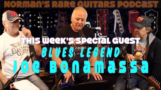 This Tuesday exclusively on AGN: Joe Bonamassa