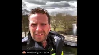Actie Politie Veluwe-West voor zorgpersoneel