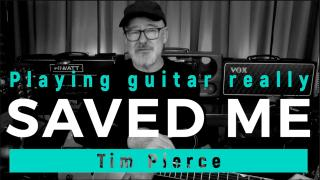 Tim Pierce: 'playing guitar really saved me'