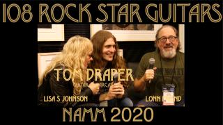 108 ROCK STAR GUITARS AT NAMM 2020: Tom Draper