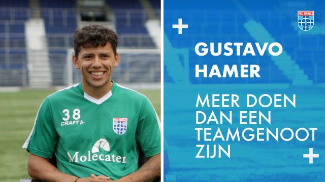 Gustavo Hamer:' Meer doen dan een teamgenoot zijn'