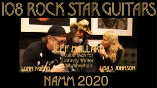 Guitar Tech for Johnny Winter & Billy Sheehan: Jeff Mallard
