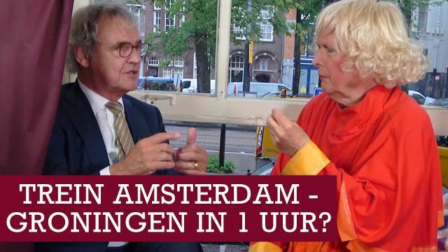 NS president directeur Roger van Boxtel over Zuiderzeelijn