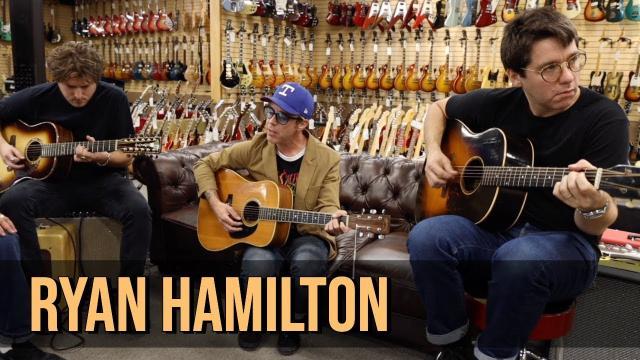 Ryan Hamilton   80's Martin D-35   50's Gibson J-45   Don Musser 12 String at Norman's Rare Guitars