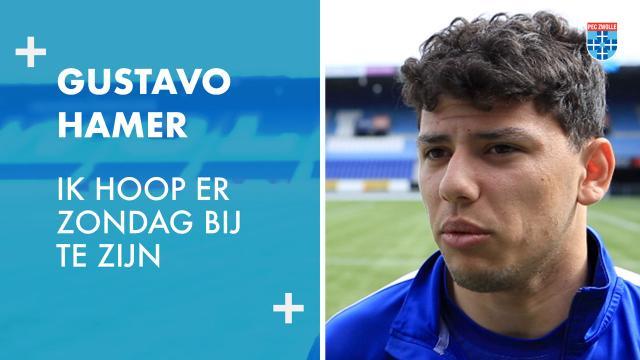 Gustavo Hamer: 'Ik hoop er zondag bij te zijn.'