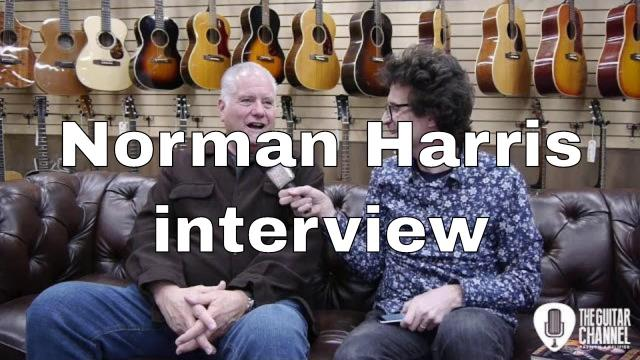 Norm interview with Pierre Journel from 'The Guitar Channel'