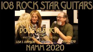 108 ROCK STAR GUITARS AT NAMM 2020: Doug Aldrich