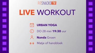 LIVE | Urban Yoga met Nanda Groen (28/5/2020)