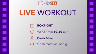 LIVE | Boxfight met Freek Maier