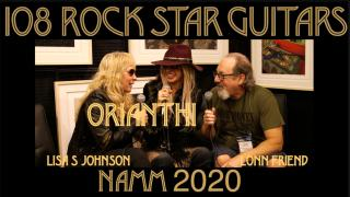 108 ROCK STAR GUITARS AT NAMM 2020 : Orianthi
