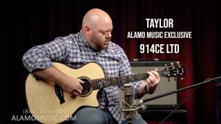 Chris McKee Signature Alamo Music EXCLUSIVE Taylor 914ce LTD!