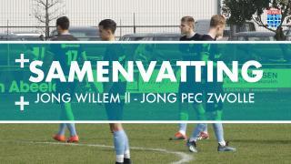 Samenvatting Jong Willem ll - Jong PEC Zwolle