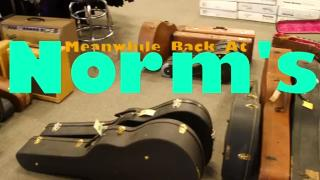 Norman Harris just got A TON of SUPER RARE VINTAGE GUITARS MINT CONDITION!!