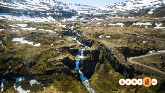 IJsland vanuit de lucht