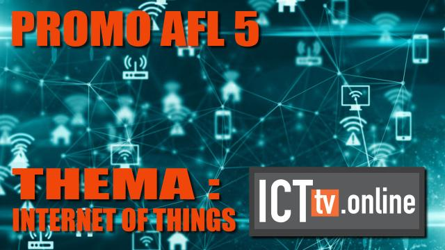 Promo Aflevering 5 - IoT Internet of Things