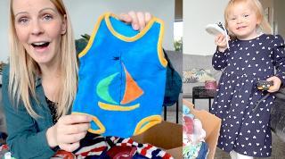 OUDE BABYKLEERTJES GEVONDEN & BABYUiTZETLiJST SHOPPEN ( + shoplog)  | Bellinga Vlog #2059
