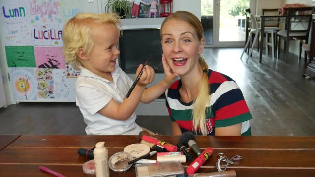 LUAN DOET MAMA MAKE-UP | LUAN BELLINGA VLOG #43