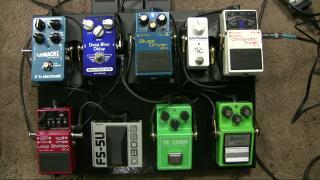 Griff Hamlin: My Pedalboard And Teaching Rig