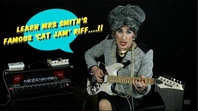 Episode 4 - Learn Mrs Smith's world famous 'Cat Jam' riff