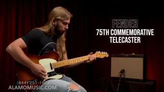 Fender 75th Anniversary Commemorative Stratocaster & Telecaster.