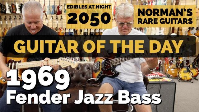 TIME TRAVEL Episode of Guitar of the Day: 1969 Fender Jazz Bass