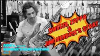 Dweezil Zappa and Jimi Hendrix's 'burned' Stratocaster