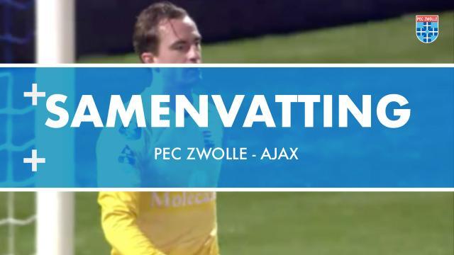 Samenvatting PEC Zwolle - Ajax