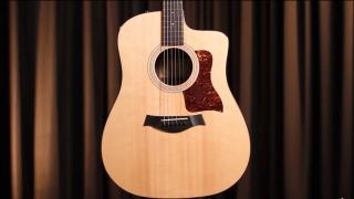 Alamo Music Center: Taylor 210ce Plus - The New Tween in the 200 series | In-depth Guitar Review
