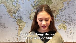 Herdenking omgekomen Joodse Harderwijkers 2021