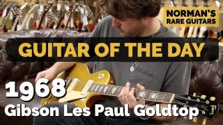 1968 Gibson Les Paul Goldtop