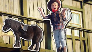 COWBOY ViDEO CLiP BACKSTAGE  ( incl. Stunts) | Bellinga Vlog #1668