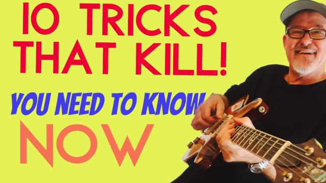 I spent DECADES on these 10 TIPS   Play better guitar NOW