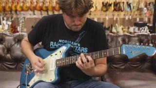 1964 Fender Jazzmaster Lake Placid Blue Matching Headstock.