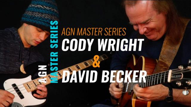 Bass player Cody Wright  & Jazz guitarist,  David Becker
