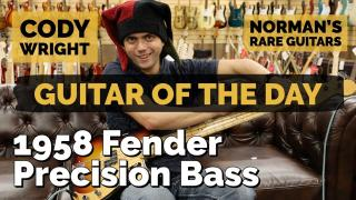 Guitar of the Day: 1958 Fender Precision Bass | Special Guest: Cody Wright