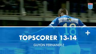 Topscorer 13-14 | Guyon Fernandez