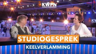 Studiogesprek over keelverlamming