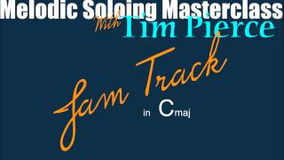 AGN Marketplace: Tim Pierce: Jam Tx for Melodic Soloing Masterclass in C maj
