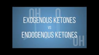 Keto 101 - Endogenous vs Exogenous Ketones