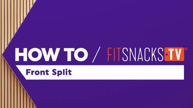 How To Front Split (Spagaat)