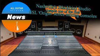 AGN News: June 10,2020: Nashville's Blackbird Studio installs new SSL 'Origin' mixing console