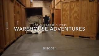 Norman's Rare Guitars Warehouse Adventures - Episode 1