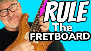 No.1 Trick to RULE the ENTIRE Fretboard PRS McCarty Private Stock