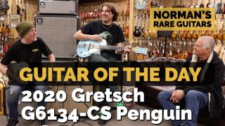 Norman's Rare Guitars | Guitar of the Day: 2020 Gretsch G6134-CS Penguin